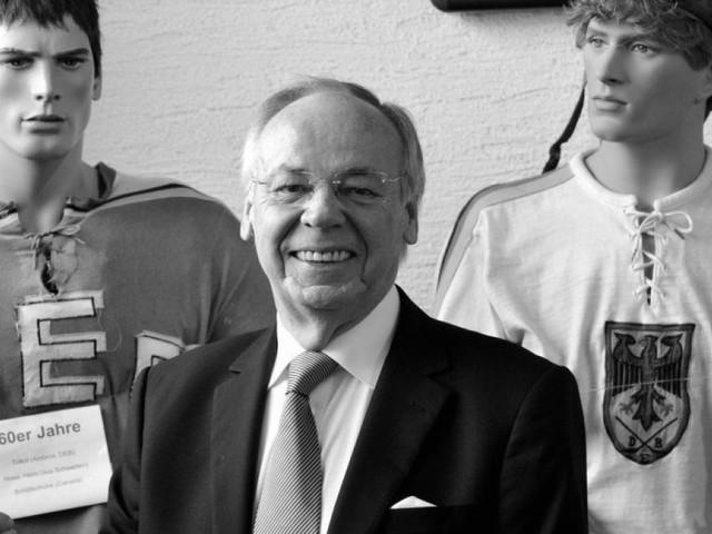 AEV-Ehrenpräsident Gottfried Neumann ist tot