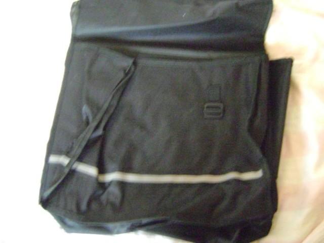 fahrradtasche, schwarz, neu, für gepäckträger, 2 teilig in Sömmerda