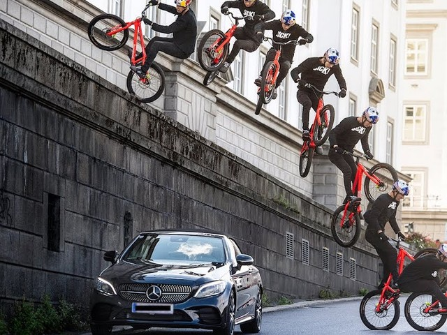 'Wibmer's Law' – Imposante Mountainbike-Action vor urbaner Kulisse