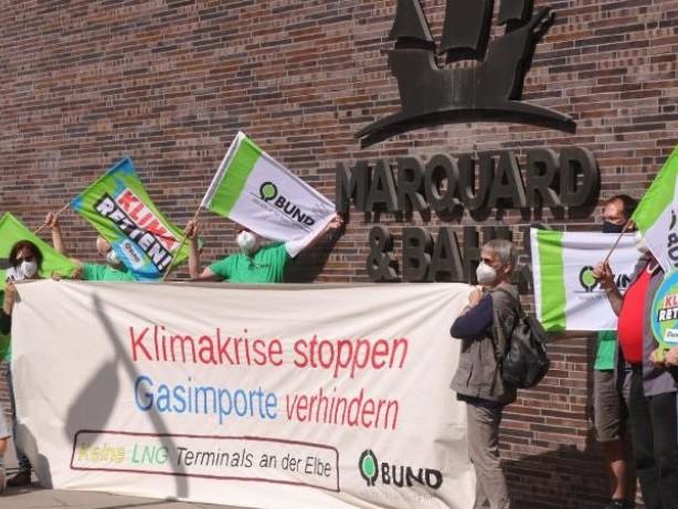 Demonstrationen: 2000 Demonstranten in Brunsbüttel gegen LNG-Terminal
