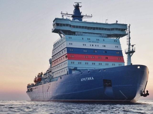 Klimaerwärmung: Eis zu dünn – Putins Supereisbrecher kann nicht erprobt werden