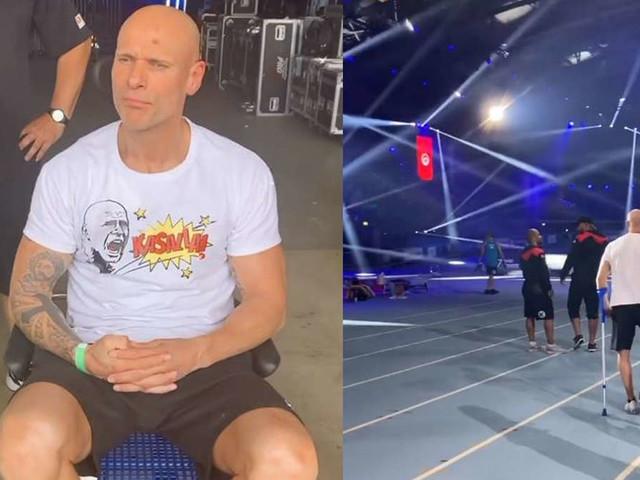 """""""Die RTL Sommerspiele"""": Thorsten Legat verletzt sich bei Proben - und muss im Rollstuhl in Klinik"""