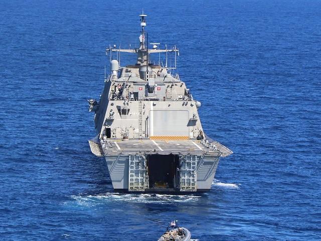 Im Arabischen Meer: US-Marine fängt Schiff mit Waffenladung ab