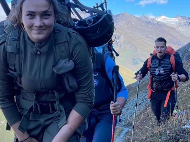 """Fallschirmspringerin: """"Frauen sollten sich mehr zutrauen"""""""