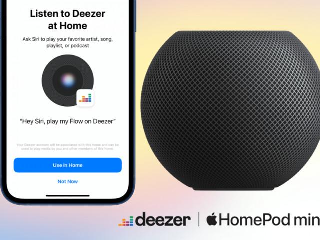 Musikdienst Deezer streamt auf Apples HomePod