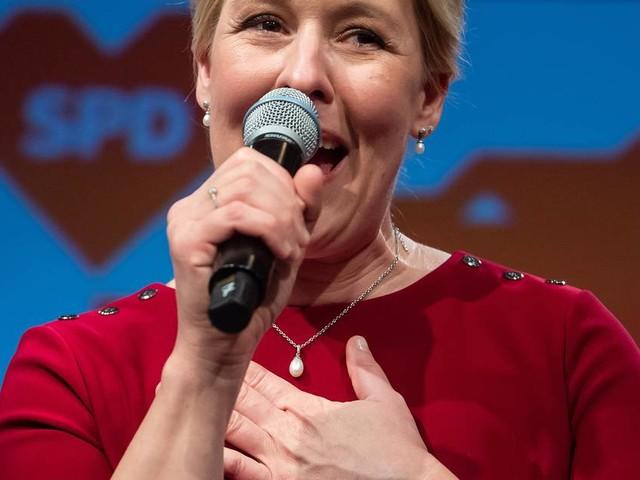 Vorläufiges Ergebnis in Berlin: SPD und Franziska Giffey gewinnen Abgeordnetenhauswahl klar