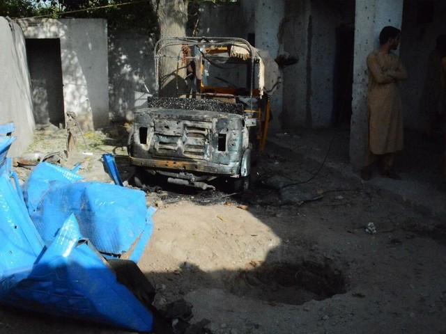 Afghanistan : US-Militär räumt Tötung von Zivilisten bei Luftangriff in Kabul ein