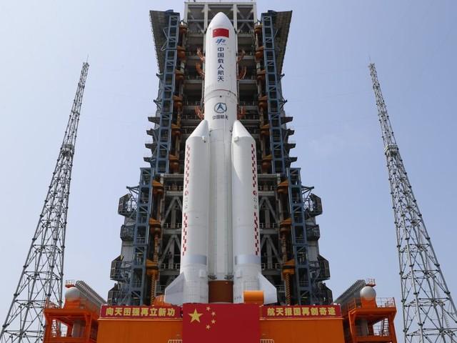 Trümmer chinesischer Rakete in Indischen Ozean gestürzt
