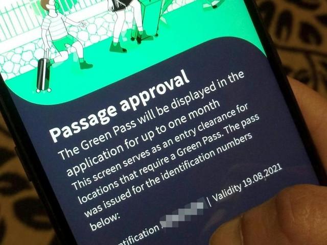 Ist der Grüne Pass sicher genug?