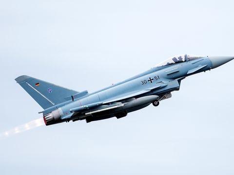 Eurofighter zur Luftraumüberwachung nach Rumänien gestartet