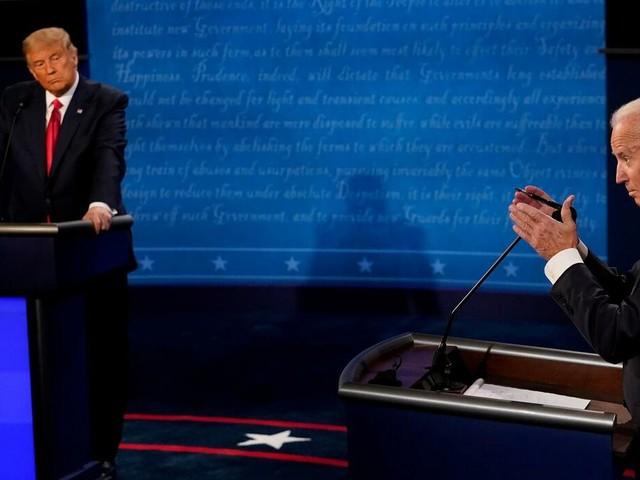 Zweites TV-Duell : Trumps und Bidens Aussagen im Faktencheck