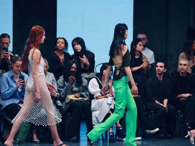 Die Londoner Modewoche ist wieder in vollem Gange