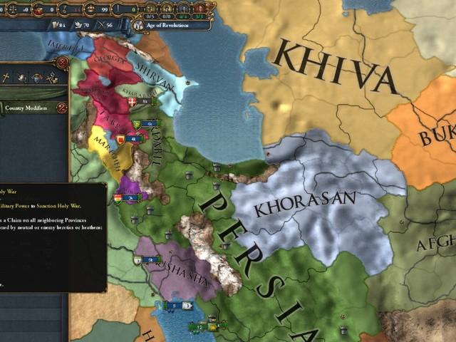 Europa Universalis 4: Cradle of Civilization - Erweiterung rund um den mittleren Osten veröffentlicht