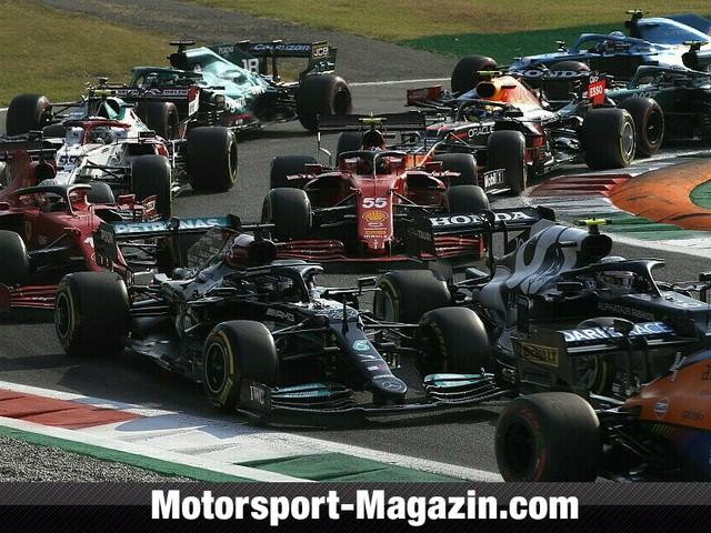 Formel 1 Monza: Bottas gewinnt Sprintrennen, Hamilton verliert