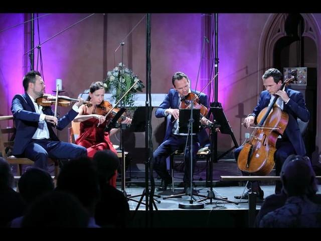 Einzug der Romantik mit Casal Quartett beim Mainzer Musiksommer