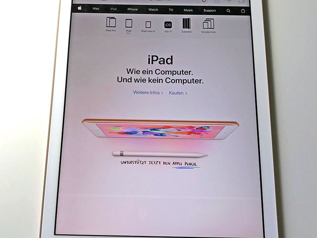 Apple iPad 2018 im Test: Das Pencil-Tablet ist ein echtes Schnäppchen!