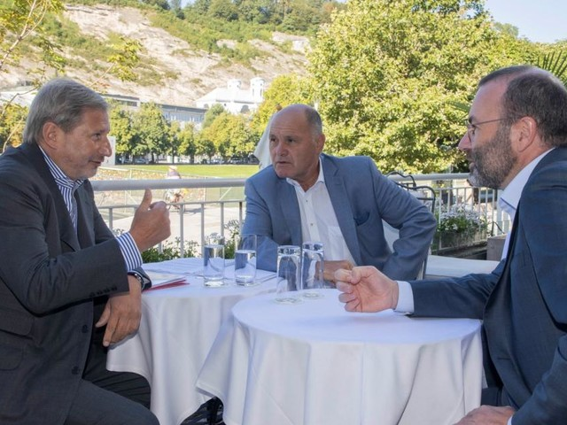 EVP-Chef Weber erwartet harte Verhandlungen um EU-Budget