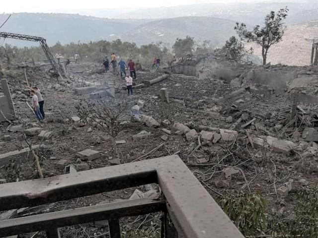 Hintergründe unklar: Gewaltige Explosion im Süden desLibanons
