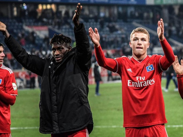 Neu-Stammspieler Jatta erhält beim HSV neuen Vertrag