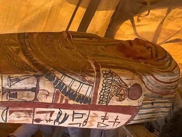 Archäologie: 2500 Jahre alte Sarkophage in bekannter Grabstätte entdeckt