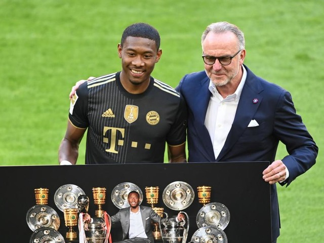 """Wechsel zu Real Madrid: Für Alaba geht """"ein Traum in Erfüllung"""""""