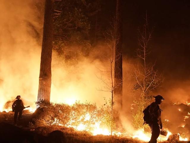 Zehntausende Menschen mussten Gebiet verlassen: Waldbrände in Kalifornien bedrohen Ausflugsgebiet Lake Tahoe