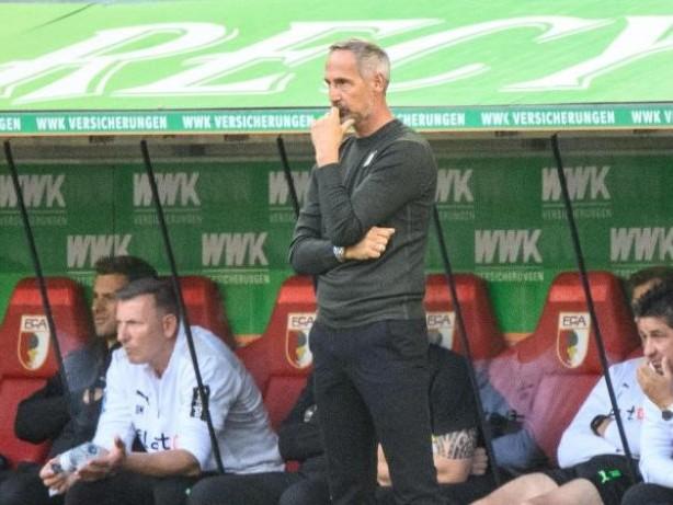 Bundesliga: Hütters Déjà-vu: Augsburger Sieg bringt Gladbach in Gefahr
