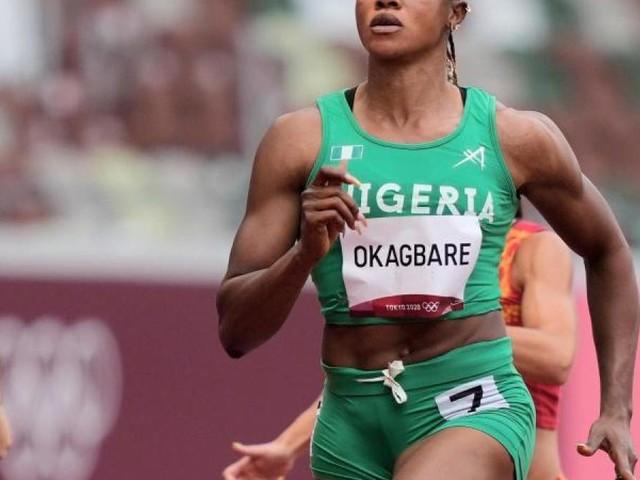 Nigerias Sprintstar Okagbare suspendiert