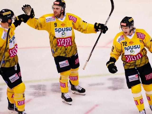 Erster Saisonsieg für die Eishockeycracks der Vienna Capitals