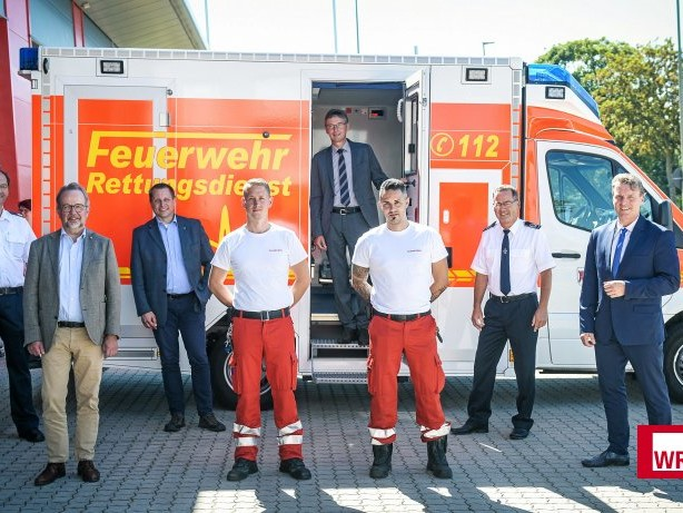 Rettungswache: Rettungswache Neukirchen-Vluyn offiziell in Betrieb genommen