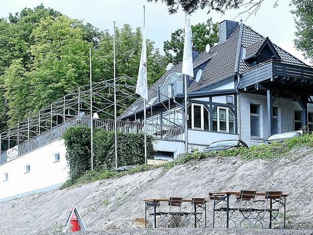 Gastronomie: Breckerfeld: Haus Glörtal-Terrasse künftig mit Glaskuppel
