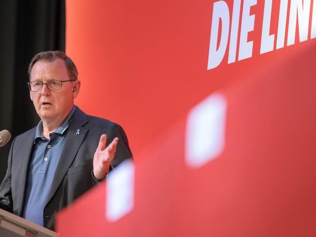 CDU laut Umfrage im Aufwind: Thüringen: Linke verliert an Zustimmung
