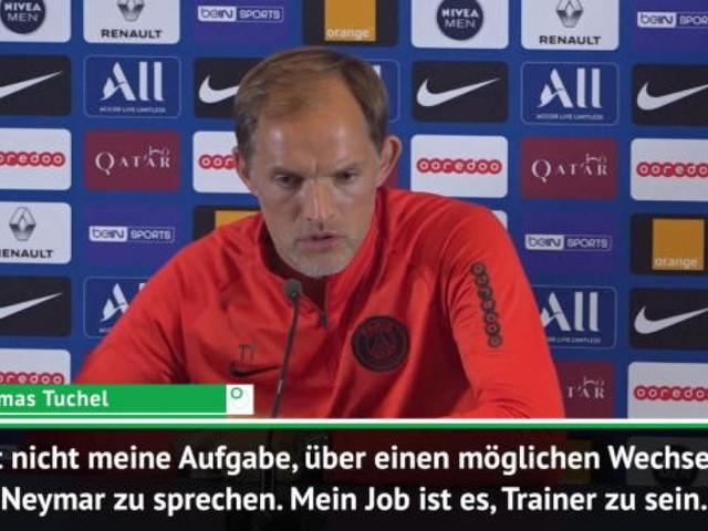"""Neymar-Wechsel? Tuchel - """"Nicht meine Aufgabe"""""""