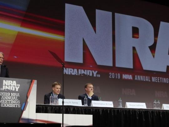 USA - Richter weist Insolvenzantrag der Waffenlobby NRAab