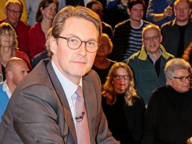 Verkehrsminister: Markus Lanz nimmt Andreas Scheuer ins Kreuzverhör
