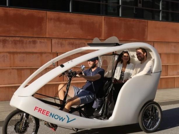 Anzeige – Fahrrad-Taxis in vier deutschen Städten / FREE NOW bietet jetzt Rikschas in Hamburg, Berlin, München und Köln an