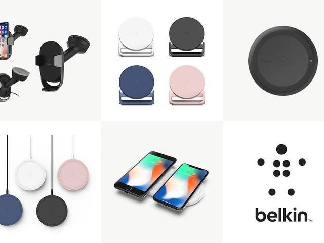 Belkin stellt neues Zubehör für drahtloses Laden vor