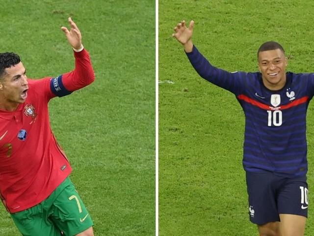 Frankreich gegen Portugal: Kronprinz Mbappé fordert König Ronaldo