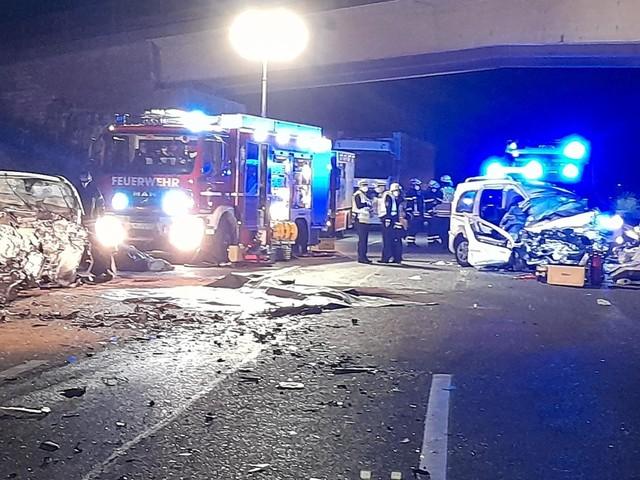 Falschfahrer verursacht schweren Unfall – drei Tote