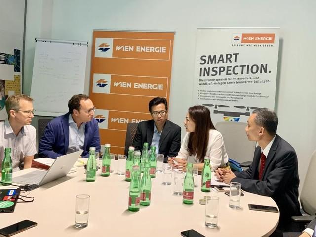 Wiener Start-up-Zentrum erhielt Besuch aus China