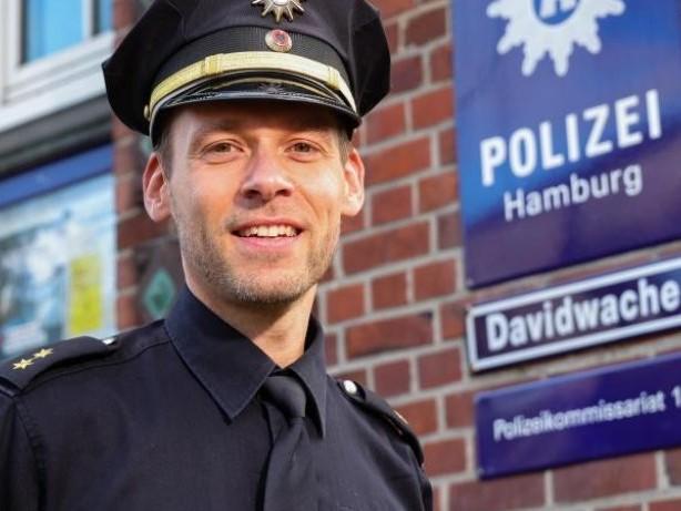 Polizei: Hamburger Davidwache hat neuen Chef