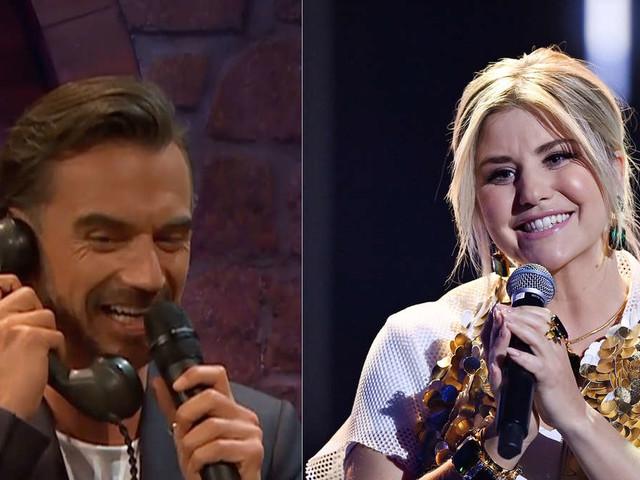 Florian Silbereisen ruft bei Beatrice Egli an - und das mitten im Live-TV