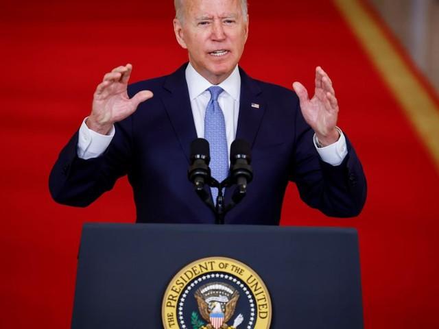 """Biden: """"Keine Nation hat jemals etwas Vergleichbares geleistet"""""""