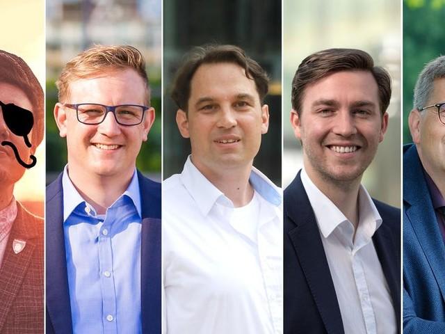 OB-Wahl: Fünf Männer wollen Gießens nächster Rathauschef werden