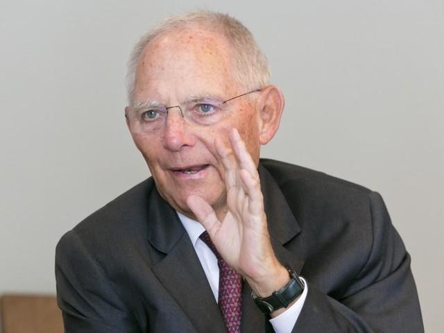 """Schäuble: """"CO2-Steuer könnte man sofort einführen"""""""