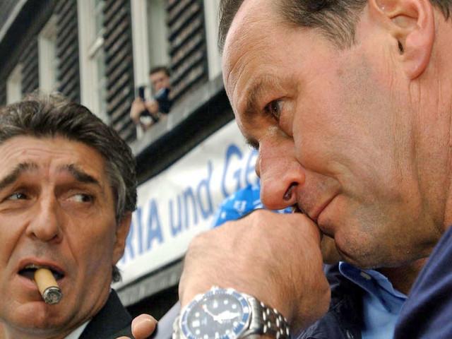 """Rudi Assauer ist tot: Stevens spricht über alten Freund -""""Scheißkrankheit"""""""