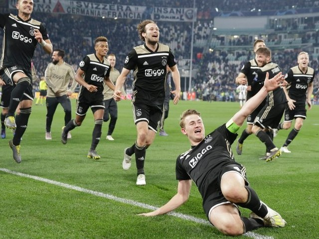 Überraschungshalbfinalist in der Champions League: Ajax Atemberaubend