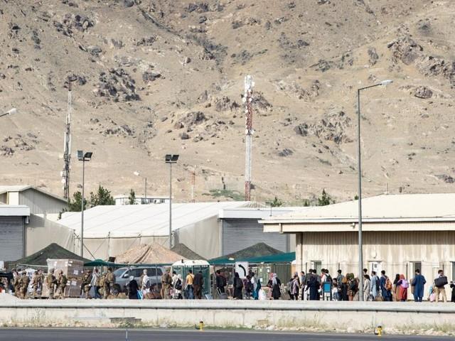 Afghanistan: Terrorgefahr am Flughafen Kabul