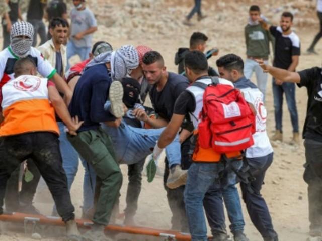 Ein Toter und mehr als 300 Verletzte bei Zusammenstößen im Westjordanland