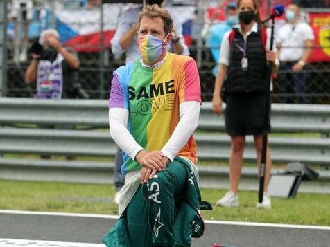 Sebastian Vettel wird von Rennleitung verwarnt